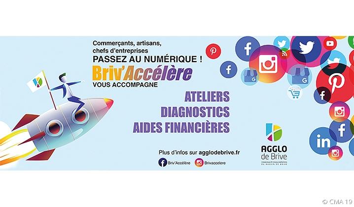 Passez au numérique avec Briv'Accèlère!