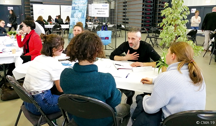 La CMA présente sur les forums en Corrèze !