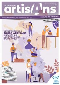 Une du Monde des Artisans 138 Edition Charente-Maritime