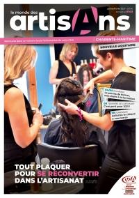Une du Monde des Artisans 140 Edition Charente-Maritime