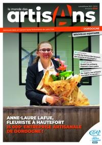 Une du Monde des Artisans 140 Edition Dordogne