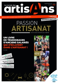 Une du Monde des Artisans 140 Edition Gironde