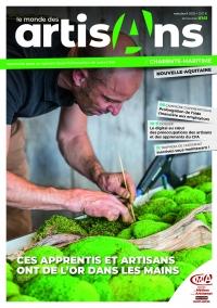 Une du Monde des Artisans 141 Charente-Maritime