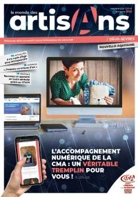 Une du Monde des Artisans 141 Edition Deux-Sèvres