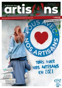 Une du Monde des Artisans 140 Edition Creuse