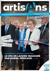 Une du Monde des Artisans 129 édition Charente-Maritime