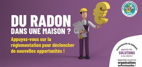 Le radon et les professionnels du bâtiment