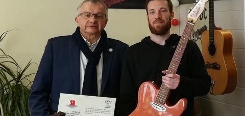À gauche, le président de la CMA 17 Yann Rivière. À droite, Philippe Agenais.