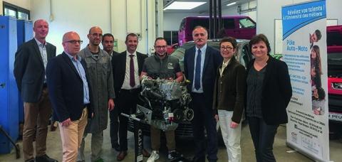 Nos partenaires et l'équipe CMA64, Université des métiers de Pau.